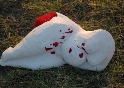 8 Kobieta z krwi i kosci_porcelana _2000